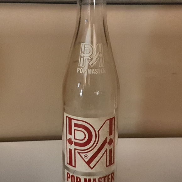 Vintage 80's Pop master bottle